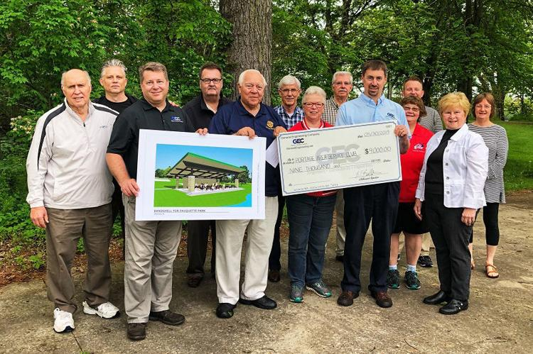 Pauquette Park Project Donation